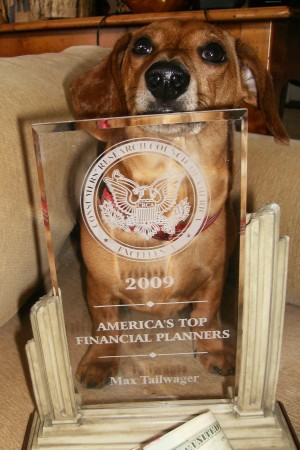 What if the Best Financial Advisor is a Dog?
